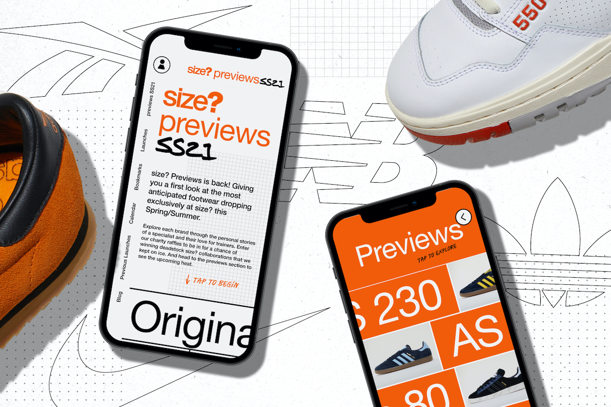 size? Launch New SS21′ Preview via their App Tomorrow