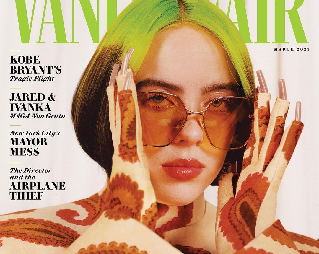 SPOTTED: Billie Eilish Covers Vanity Fair's March Issue in Gucci