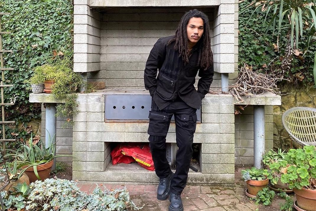 SPOTTED: Luka Sabbat Catches some Air in All-Black Konus