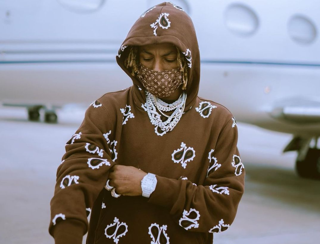 SPOTTED: Rich the Kid Catches a Jet in Amiri & Louis Vuitton