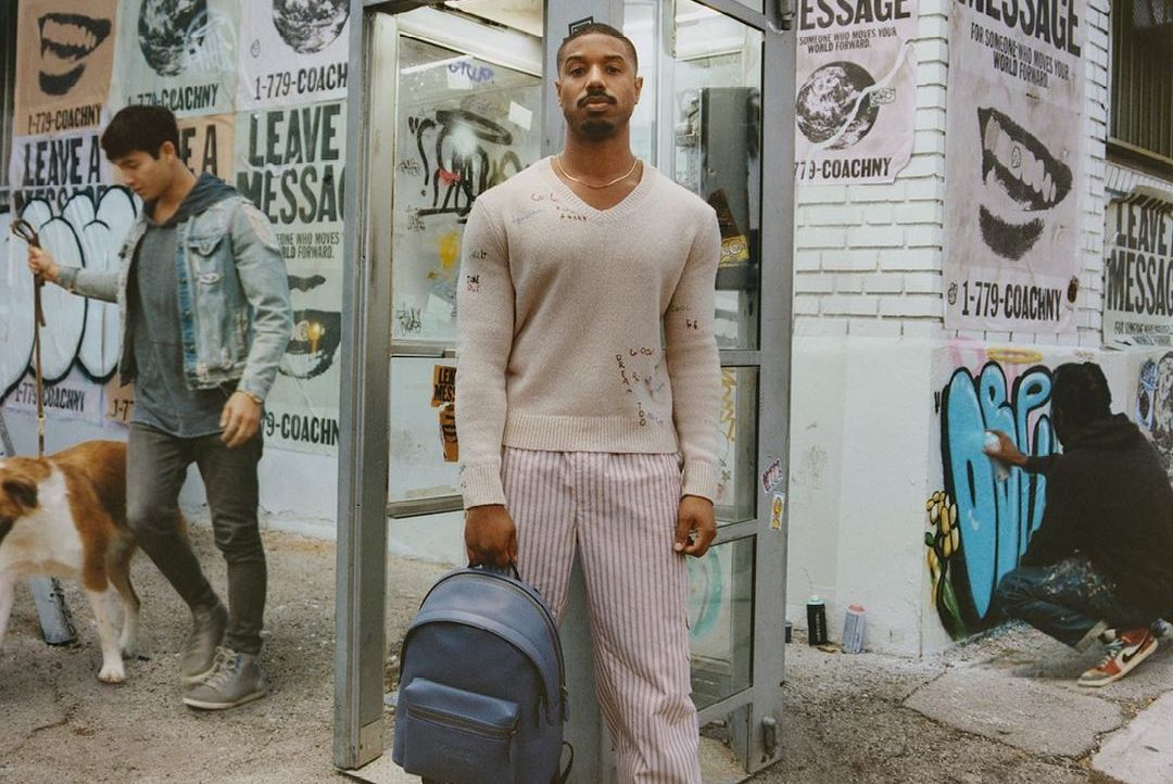 SPOTTED: Michael B Jordan in Latest Coach Campaign Shots