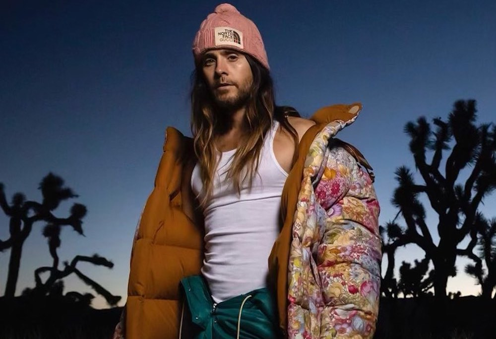 SPOTTED: Jared Leto in The North Face x Gucci for Sidetracked Magazine