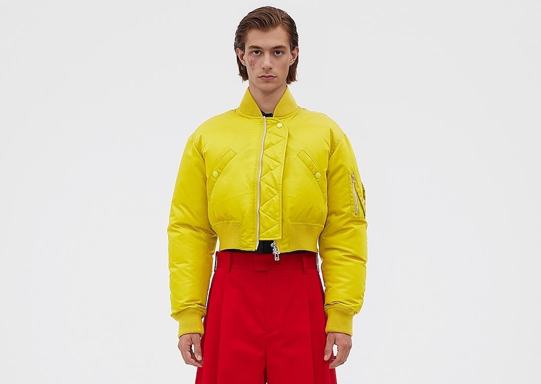 PAUSE or Skip: Bottega Veneta Cropped Yellow Jacket