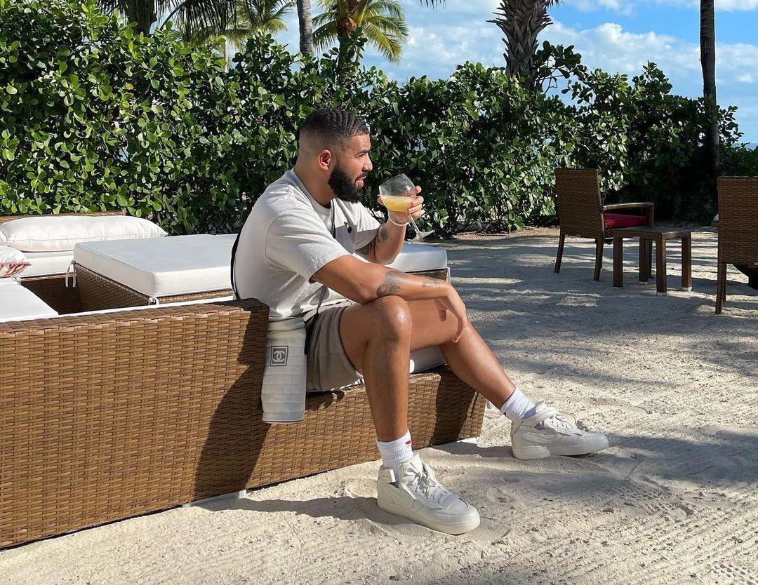 SPOTTED: Drake Dons Nike x Comme Des Garçons & Chanel