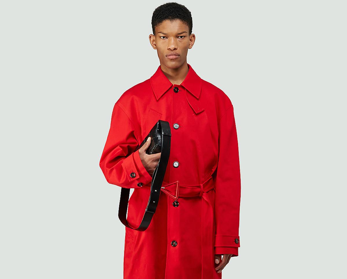 PAUSE or Skip: Bottega Veneta Red Trench Coat