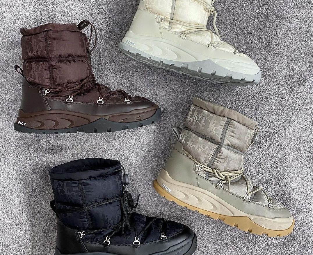 A Closer Look at Dior Men's Autumn/Winter 2021 Snow Boots