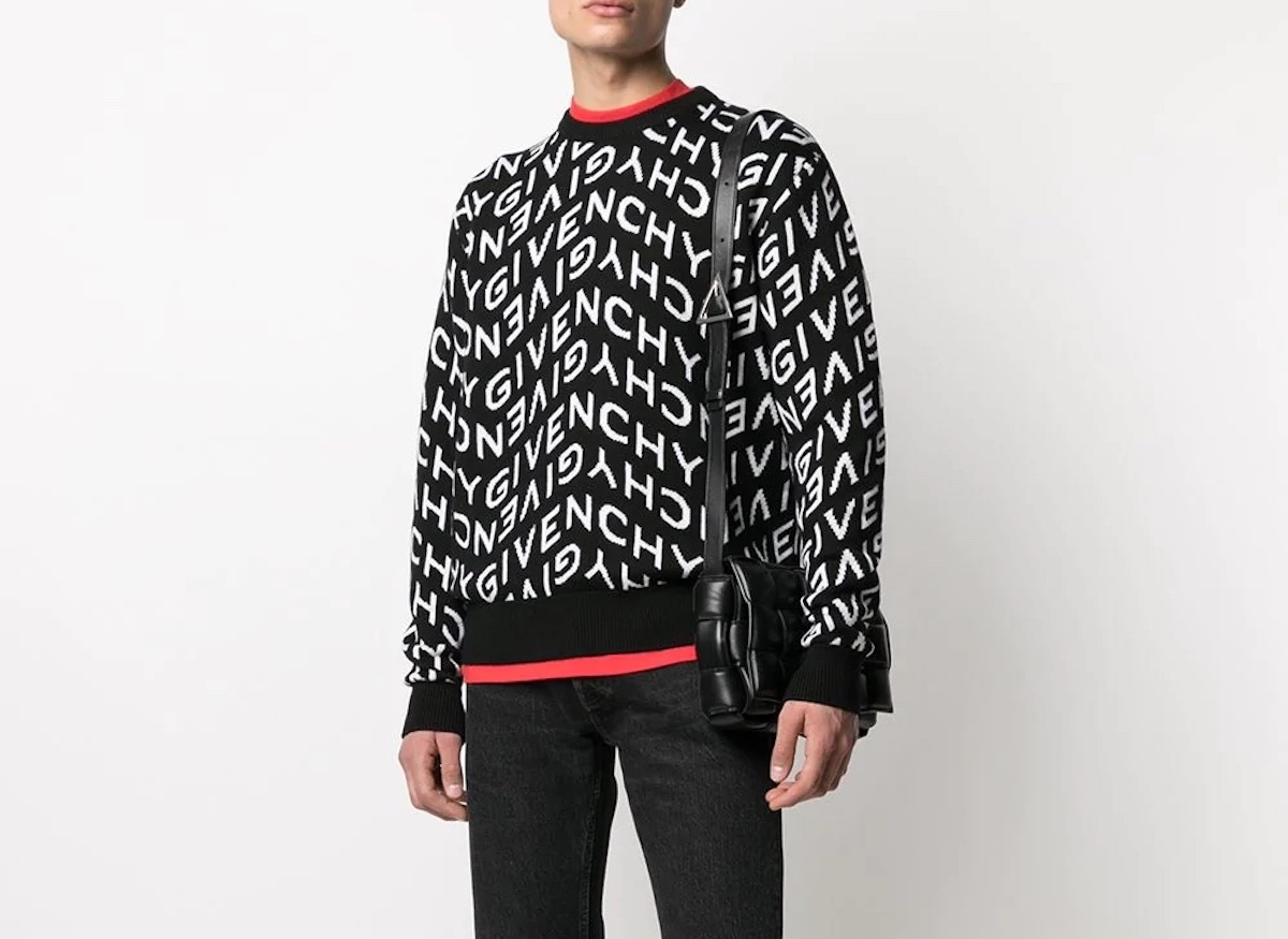 PAUSE or Skip: Givenchy Refracted Intarsia-Knit Jumper