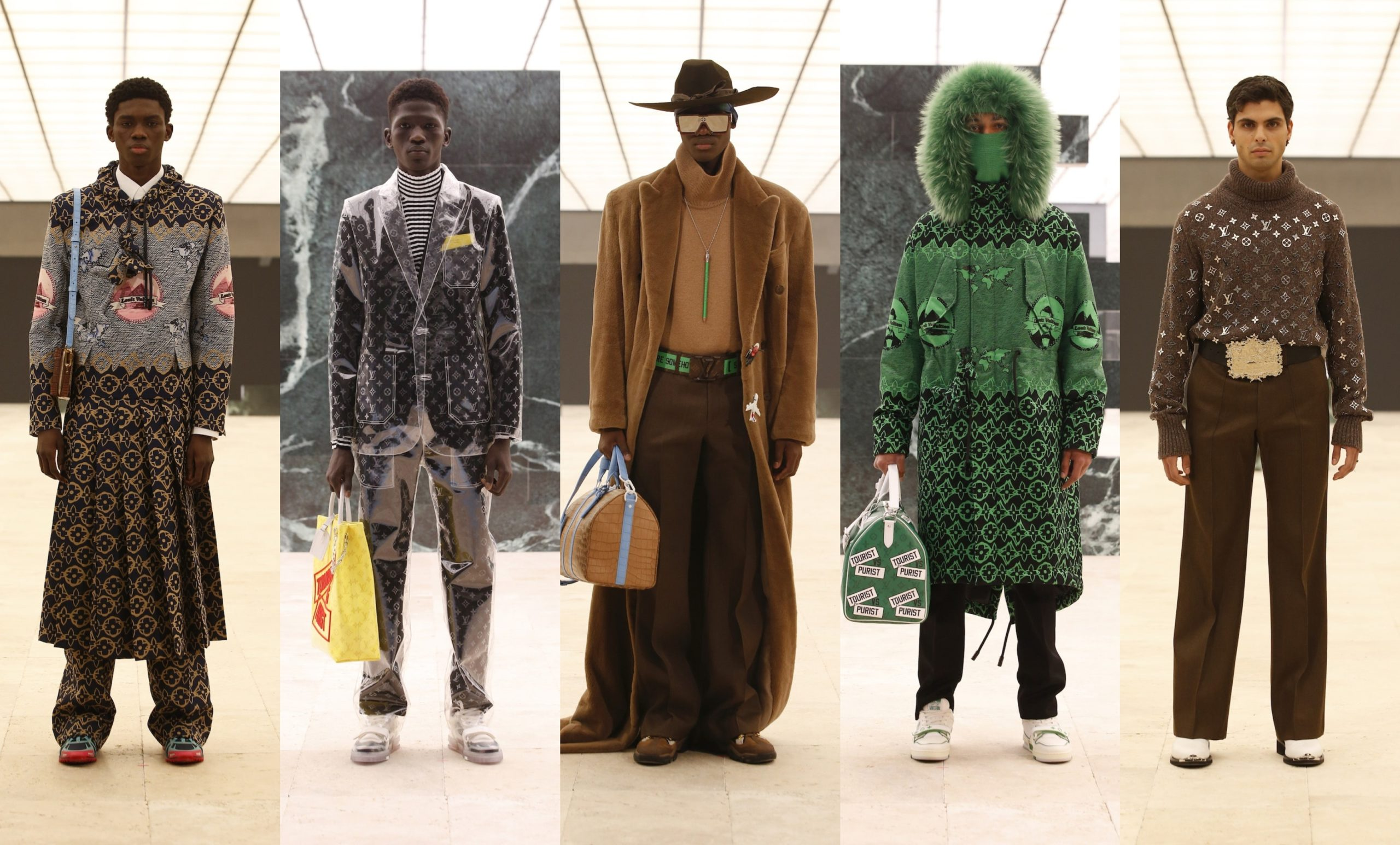 PFW: Louis Vuitton Menswear Autumn/Winter 2021 Collection