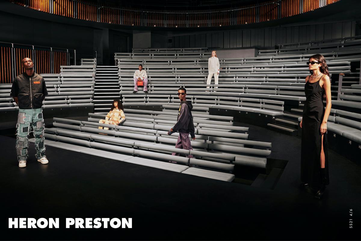 "Heron Preston Unveils Spring/Summer 2021 ""K.I.S.S."" Campaign"