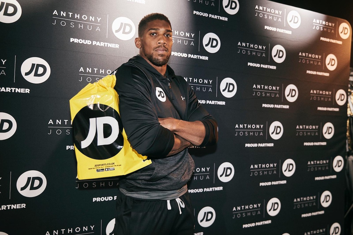 JD & Anthony Joshua launch #JDChampsHonours Campaign
