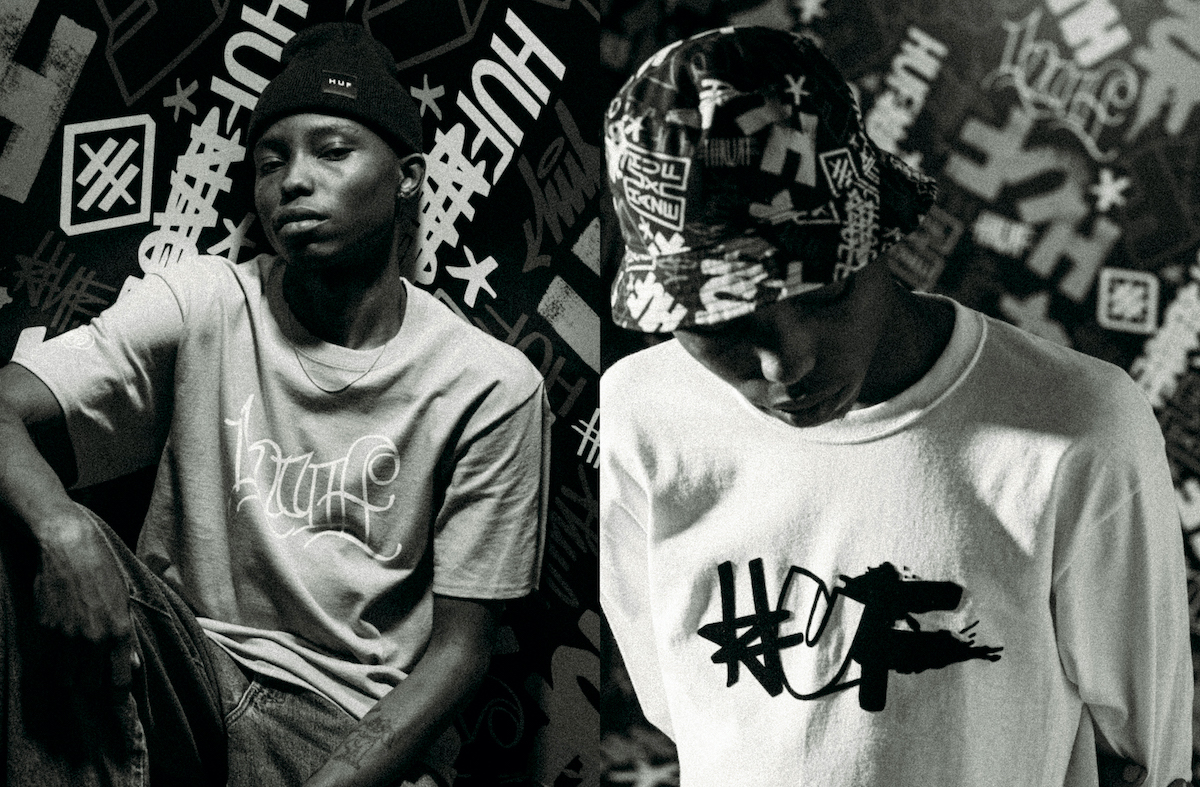 HUF Taps NYC Artist Eric Haze for Exclusive Collaborative Capsule
