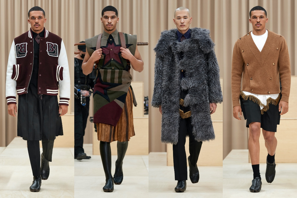 LFW: Burberry Autumn/Winter 2021 Collection
