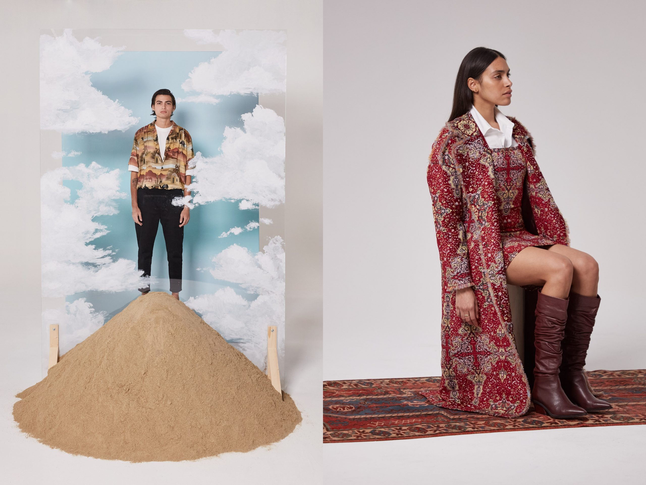 Les Benjamins Take to the Silk Road for SS21 Collection