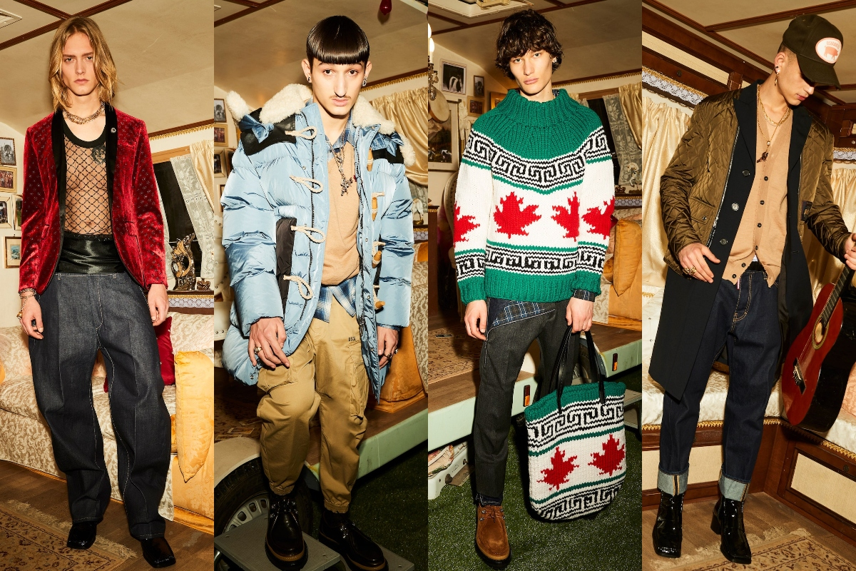 Dsquared² Autumn/Winter 2021 Collection