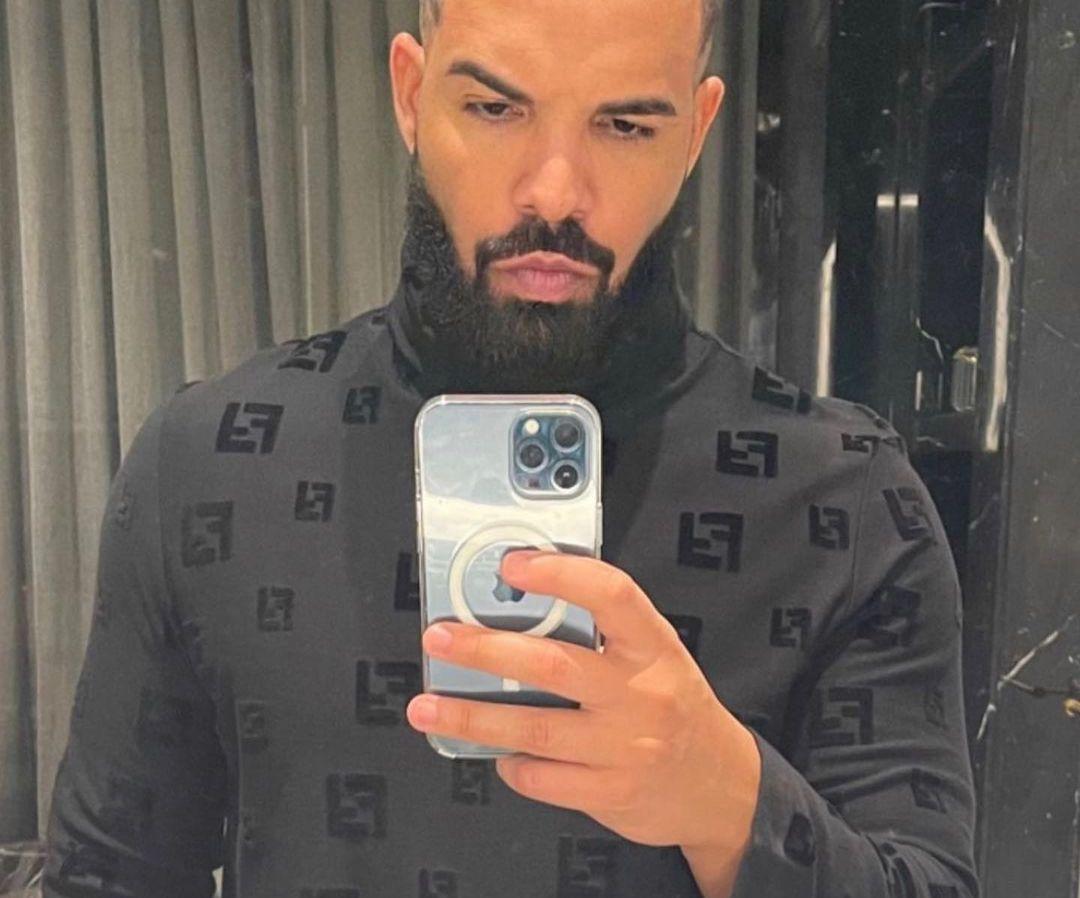 SPOTTED: Drake Opts for Fendi Rollneck in Valentine's Selfie
