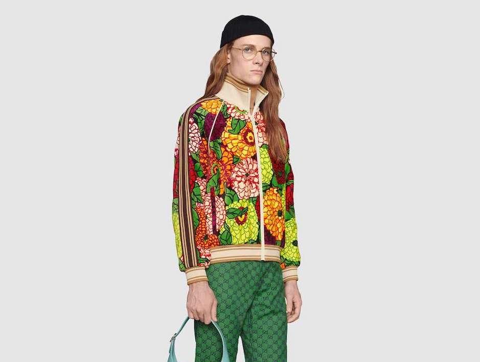 PAUSE or Skip: Gucci x Ken Scott Printed Jacket