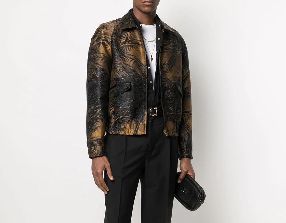 PAUSE or Skip: Saint Laurent Palm Tree Jacket