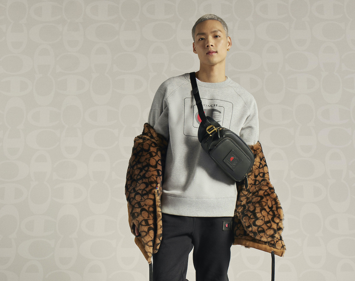Coach Debut SS21′ Champion Athleticwear Collaboration Campaign
