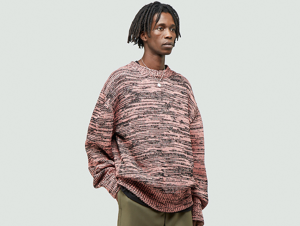 PAUSE or Skip: OAMC Contrast Knitted Sweatshirt