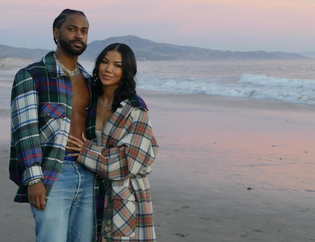 SPOTTED: Big Sean & Jhené Aiko Double Up in Check