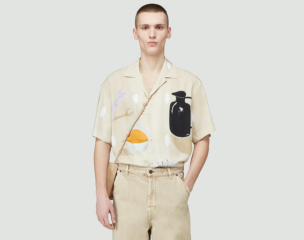 PAUSE or Skip: Jacquemus La Chemise Jean Shirt in Beige