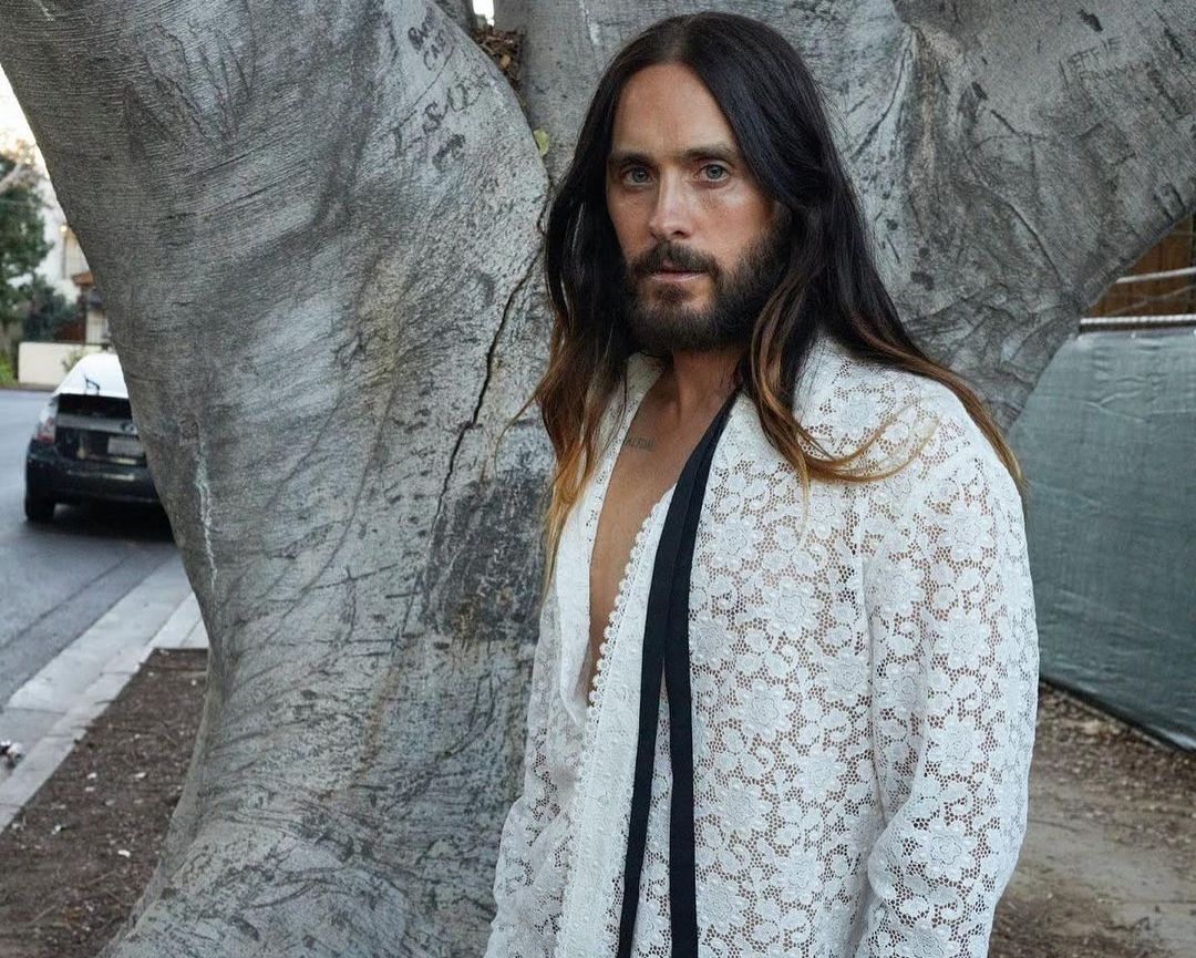 SPOTTED: Jared Leto in Gucci for W Magazine