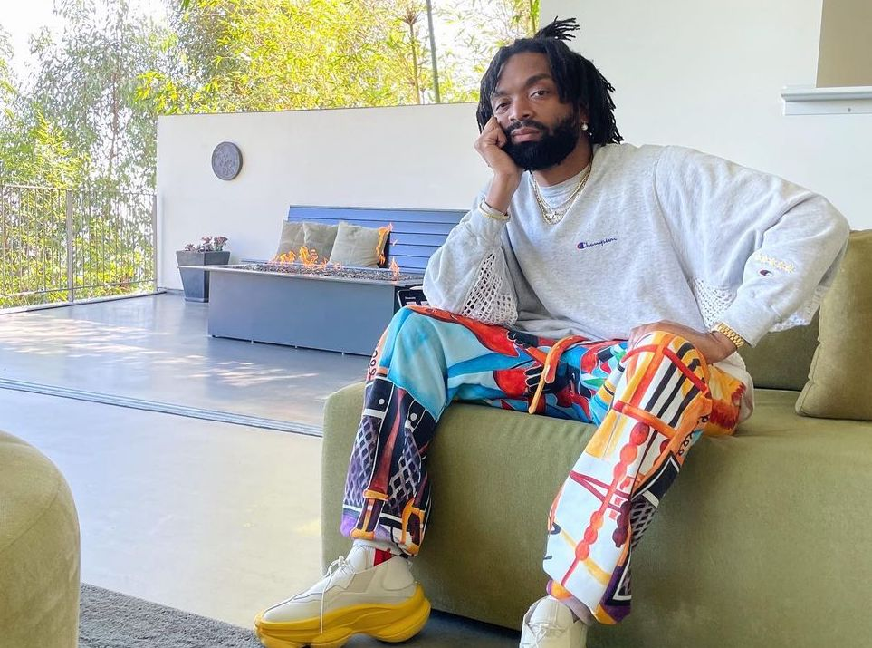 SPOTTED: Kerby Jean-Raymond in Pyer Moss & Champion