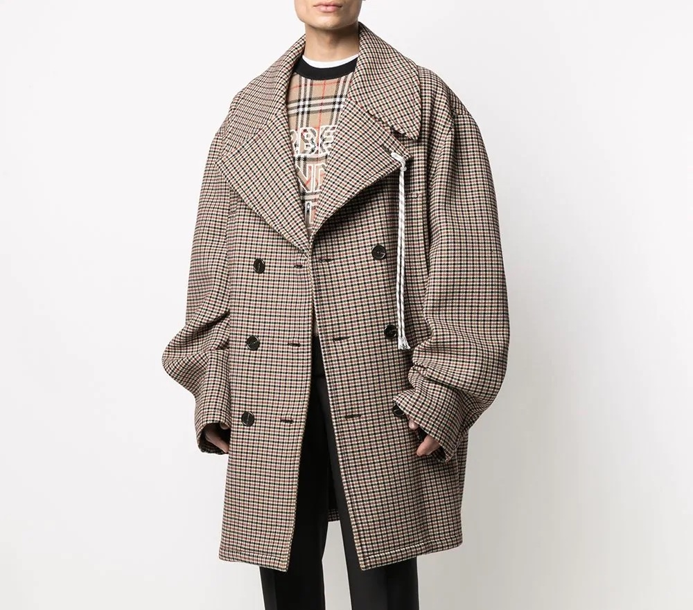 PAUSE or Skip: Raf Simons Houndstooth Coat