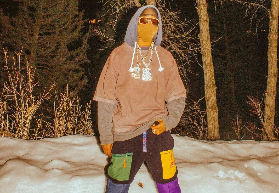 SPOTTED: Travis Scott Stays Snow Ready with Lanvin & Layering