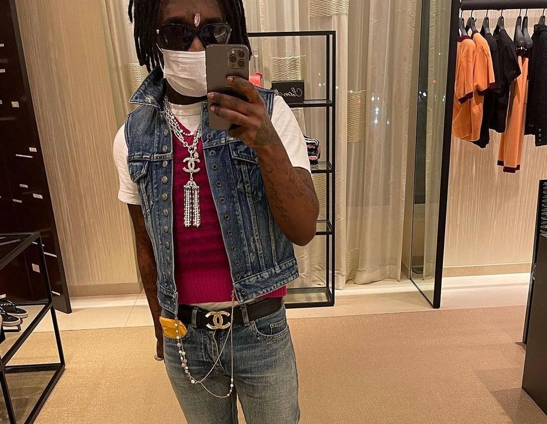 SPOTTED: Lil Uzi Vert Dons Double Denin & Chanel