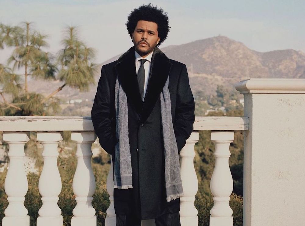 SPOTTED: The Weeknd Smartens Up for Billboard Magazine