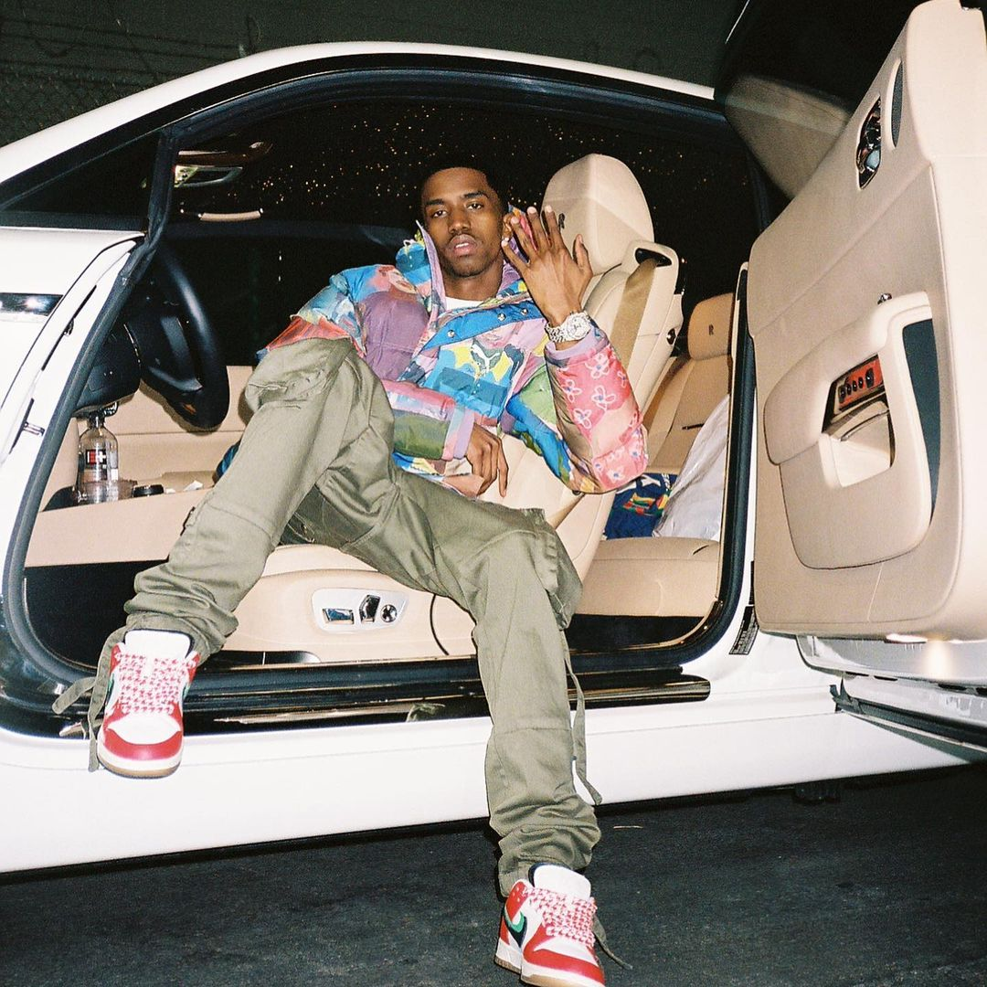 SPOTTED: Christian Combs catches Rolls Royce in Puma x KidSuper