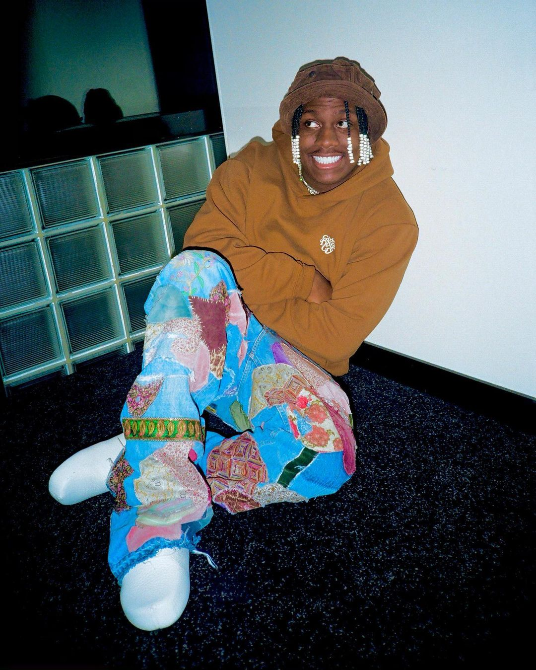 SPOTTED: Lil Yachty in Human Made & Patchwork Denim