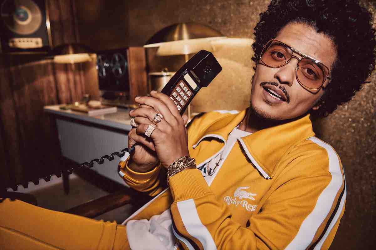 Bruno Mars Unveils Lifestyle Collection Debut with Lacoste X Ricky Regal