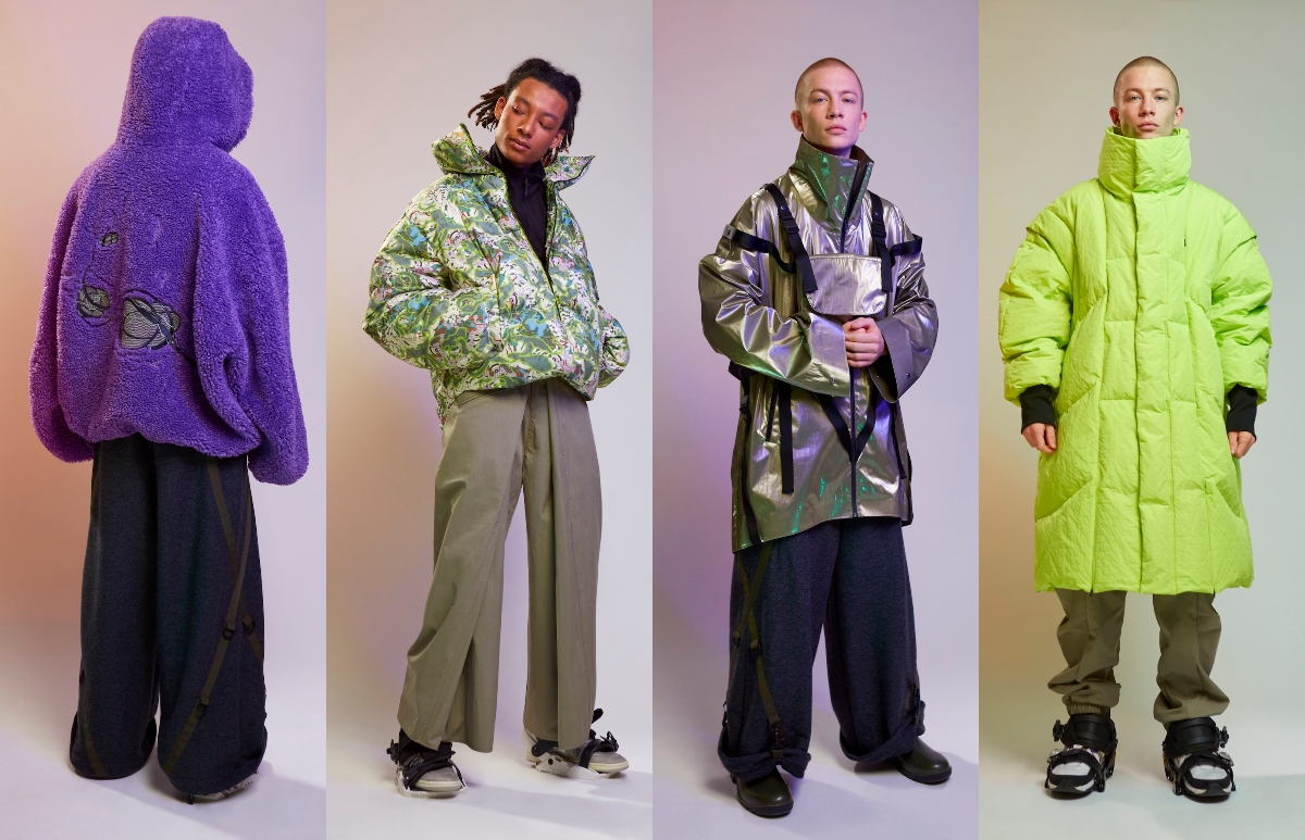A. A. Spectrum Autumn/Winter 2021 'CYBER-BERG' Collection