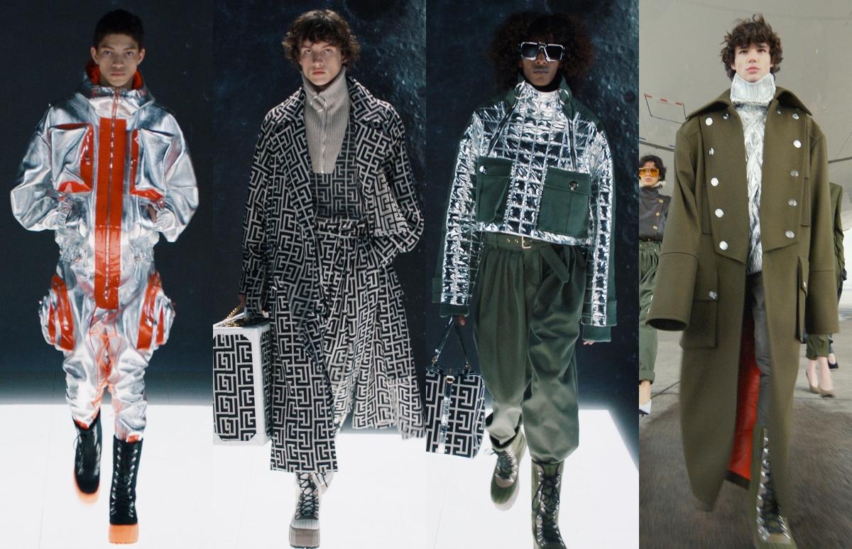 Balmain Menswear Autumn/Winter 2021 Collection