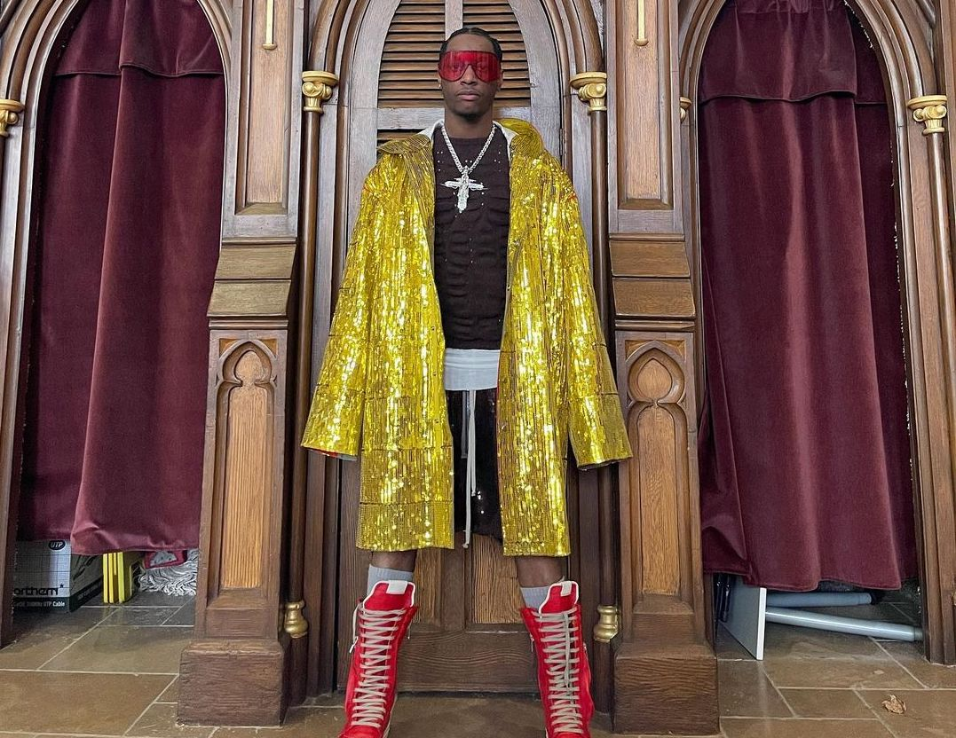 SPOTTED: Bloody Osiris Takes Us to Church in Rick Owens