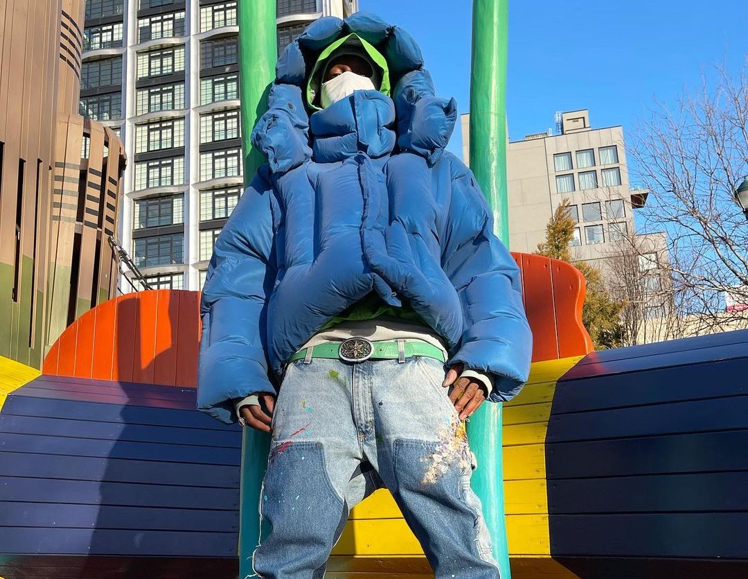 SPOTTED: Bloody Osiris Stays Cosy in Blue Dingyun Zhang & Supreme x Nike