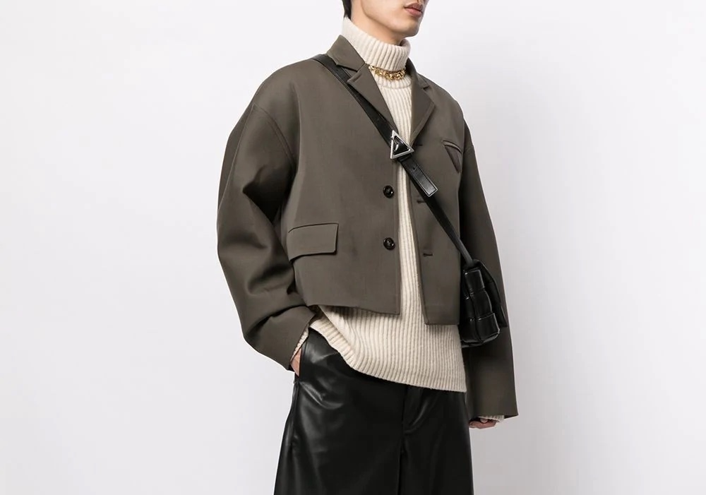 PAUSE or Skip: Bottega Veneta Cropped Jacket