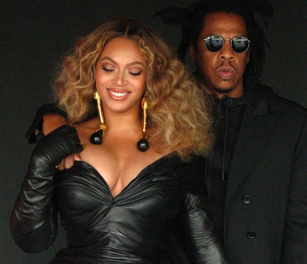 SPOTTED: Beyonce wears Schiaparelli to accept Record-Breaking Grammy