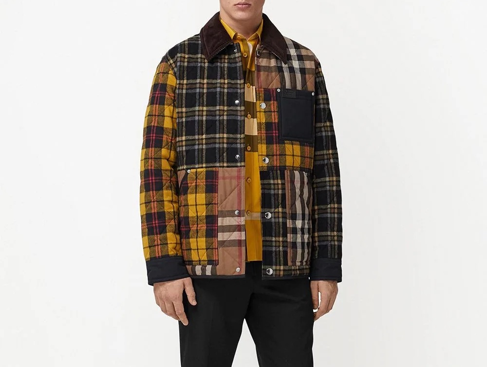 PAUSE or Skip: Burberry Patchwork Check Jacket