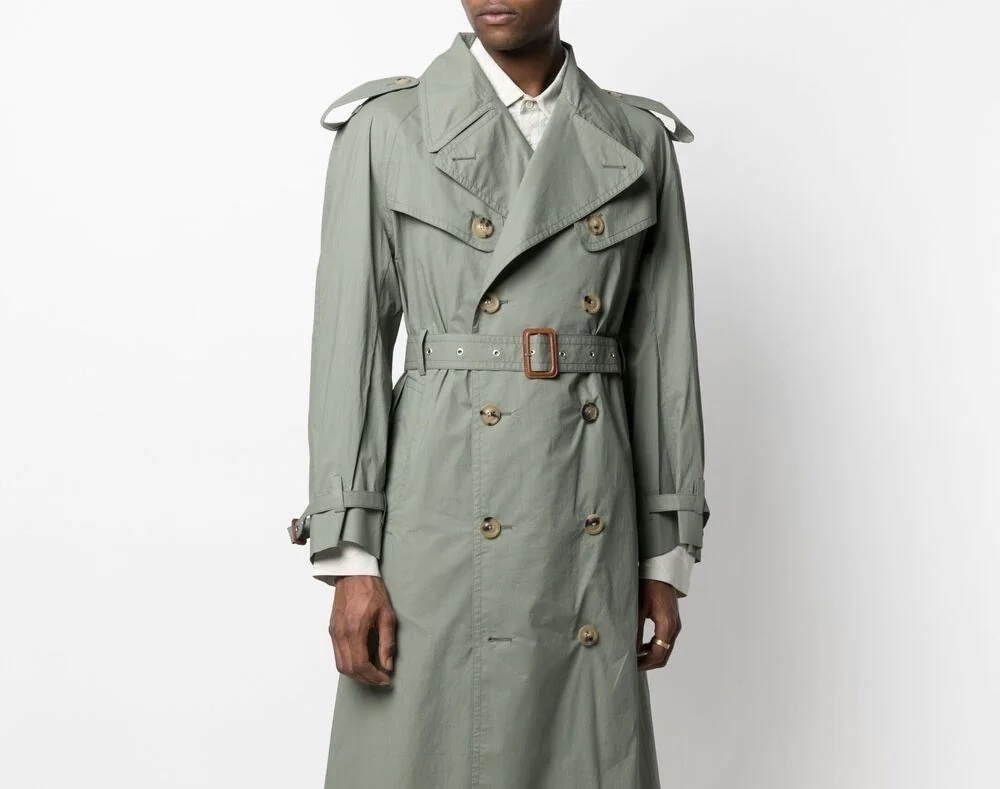 PAUSE or Skip: Maison Margiela Double-Breasted Trench Coat