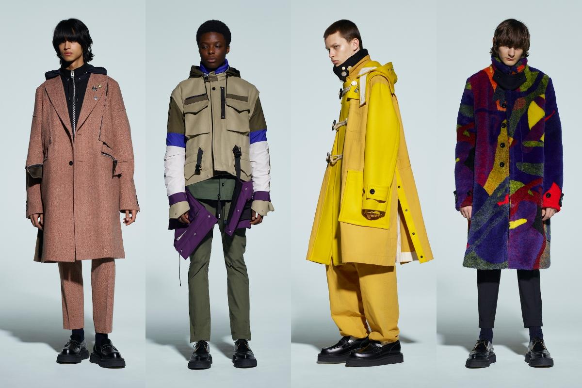 sacai Menswear Autumn/Winter 2021 Collection