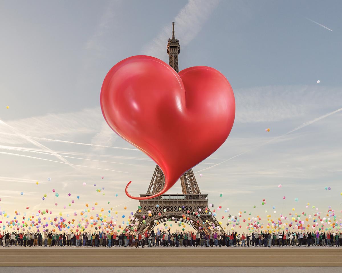AMI Paris & Jean-Paul Goude Debut 'Ami de Coeur' Collaboration
