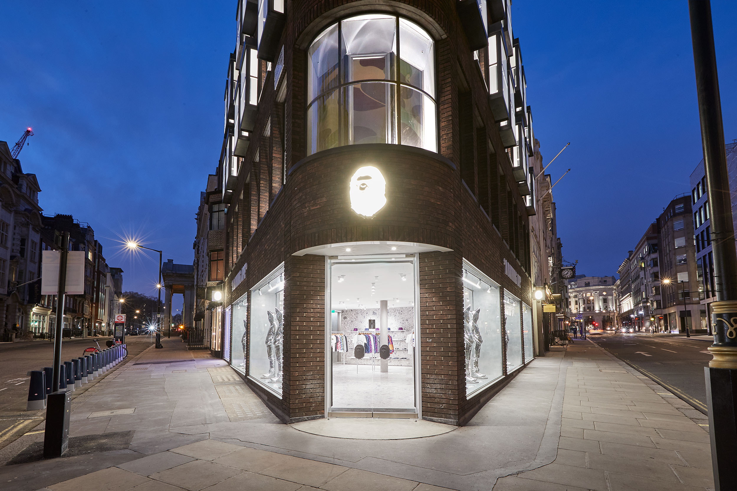 BAPE opens its Biggest Ever Store in Central London