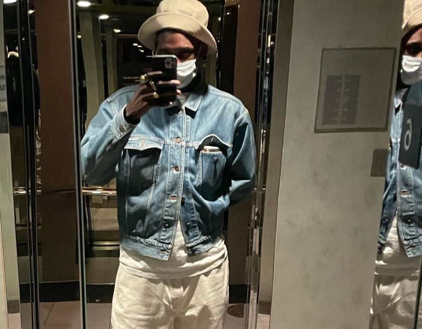 SPOTTED: ASAP Nast Dresses-Down in Denim & Bucket Hat