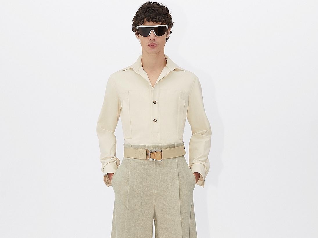 PAUSE or Skip: Bottega Veneta Twill Polo Shirt