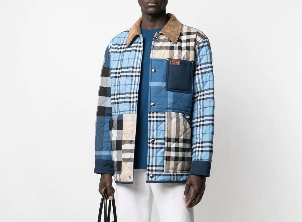 PAUSE or Skip: Burberry Patchwork Shirt Jacket