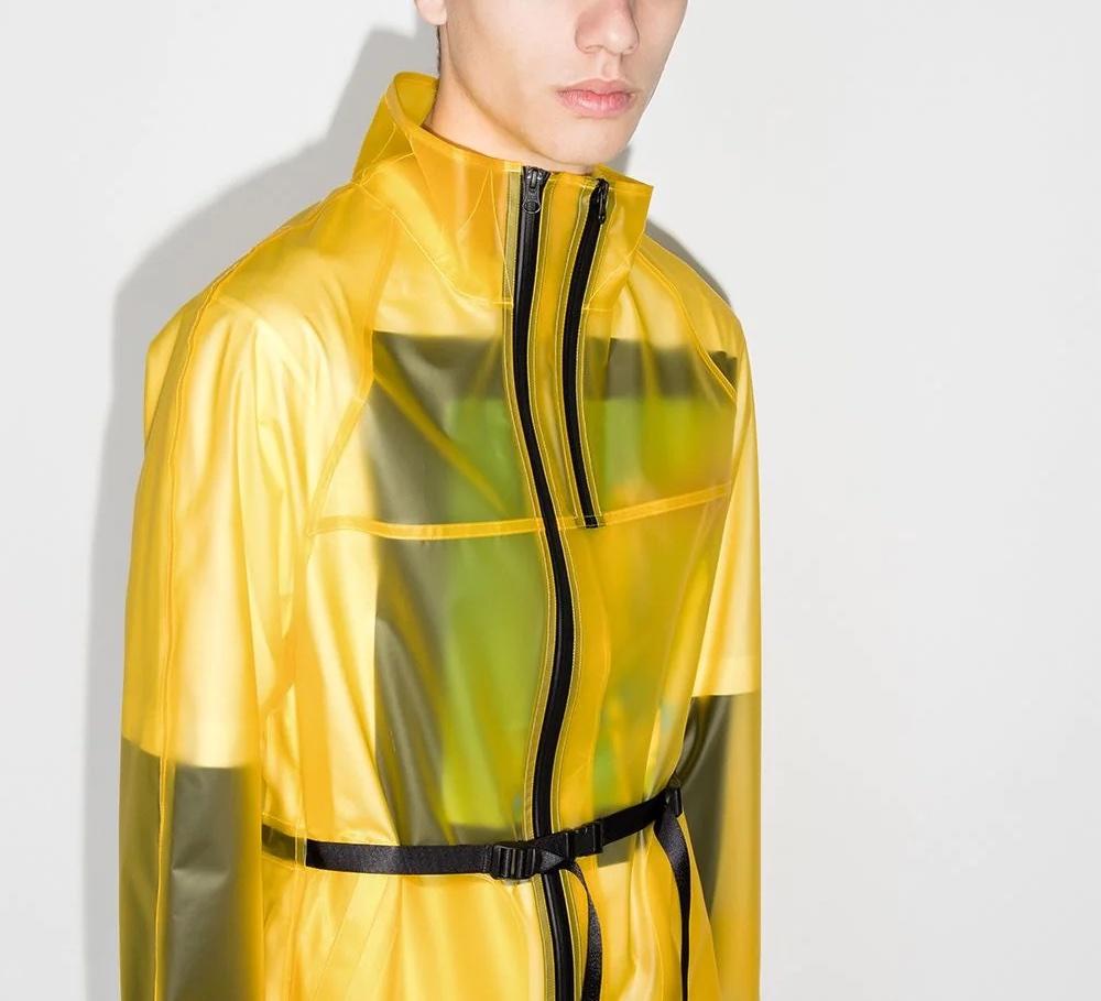 PAUSE or Skip: Helmut Lang Tech Semi-Sheer Jacket