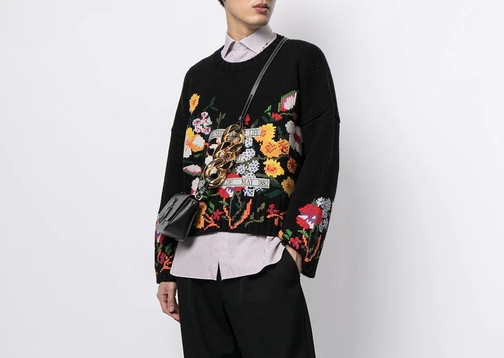 PAUSE or Skip: JW Anderson Embroidered Jumper